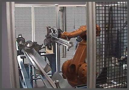 Robotic Tube Bundle Assembly System 100
