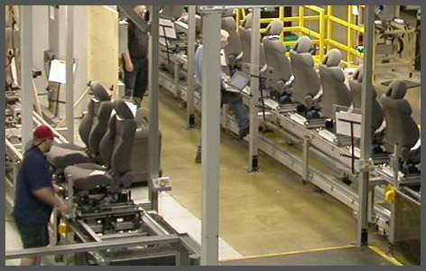 Automotive Seat Assembly Conveyors 081